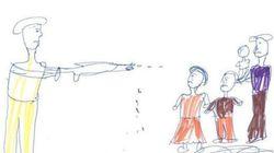 Όπλα, φόβος, θάνατος. Τα παιδιά στη Συρία ζωγραφίζουν το μέλλον