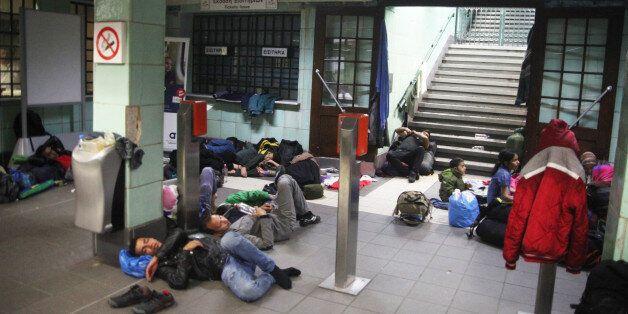 Στο γήπεδο του ταε κβον ντο μεταφέρθηκαν οι πρόσφυγες που είχαν βρει καταφύγιο στο σταθμό