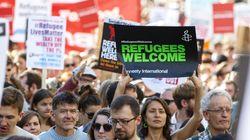 Συγκεντρώσεις αλληλεγγύης στους πρόσφυγες αλλά και πορείες οργής και μίσους κατά των