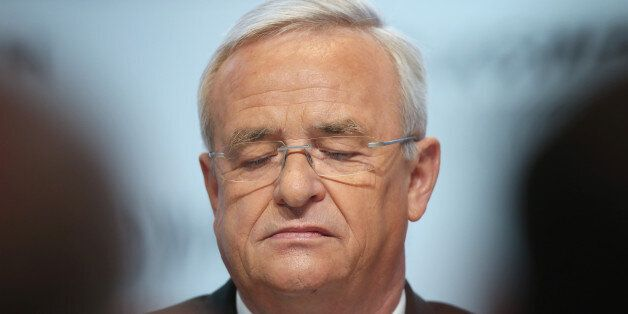 WOLFSBURG, GERMANY - SEPTEMBER 22: In this file photo Volkswagen CEO Martin Winterkorn attends the company's...