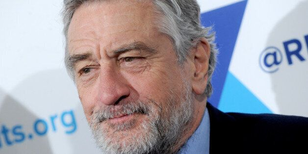 Honoree Robert De Niro attends the 2014 RFK Ripple Of Hope Gala at Hilton in New York on December 16, 2014.