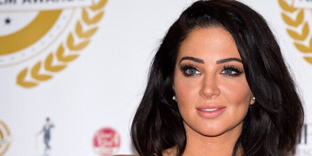 LONDON, ENGLAND - MARCH 31: Tulisa Contostavlos attends the National Film Awards at Porchester Hall on...