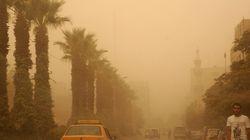 «Αποκαλυπτική», άνευ προηγουμένου αμμοθύελλα σαρώνει τη Μέση
