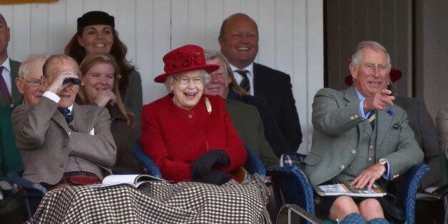 Photo by: KGC-42/STAR MAX/IPx 2015 9/5/15 Prince Philip The Duke of Edinburgh, Her Majesty Queen Elizabeth...