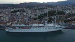 Το μεγαλύτερο ιστιοφόρο στον κόσμο στο λιμάνι της