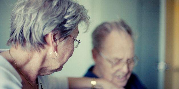 Senior couple, my parents - grief