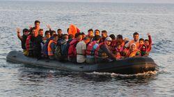 Διάσωση μεταναστών νοτιανατολικά της Μυτιλήνης από το πλοίο Blue Star