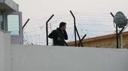 Αντιφασιστική συγκέντρωση έξω από τις φυλακές Κορυδαλλού με αφορμή τη δίκη της Χρυσής