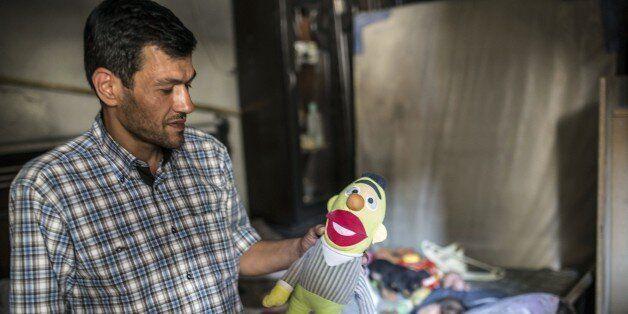 Abdullah Kurdi, father of three-year-old Aylan Kurdi (also know as Aylan Shenu) who drowned off Turkey,...