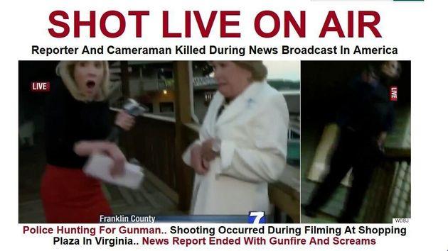 Εν ψυχρώ δολοφονία δημοσιογράφων στις ΗΠΑ ενώ βρίσκονταν σε ζωντανή
