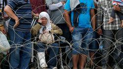 Πάνω από 1.000 πρόσφυγες πέρασαν τα σύνορα προς την