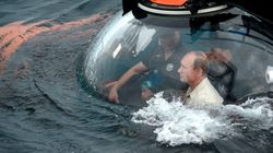 Η κατάδυση Πούτιν στην Κριμαία για να θαυμάσει ένα βυζαντινό