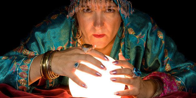 Fortune Teller and Crystal