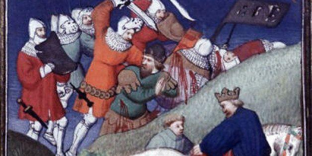 Η μάχη του Μαντζικέρτ από γαλλική μινιατούρα του 15ου