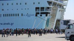 Στο λιμάνι του Πειραιά κατέπλευσε το «Ελευθέριος Βενιζέλους» με 2.500 Σύρους