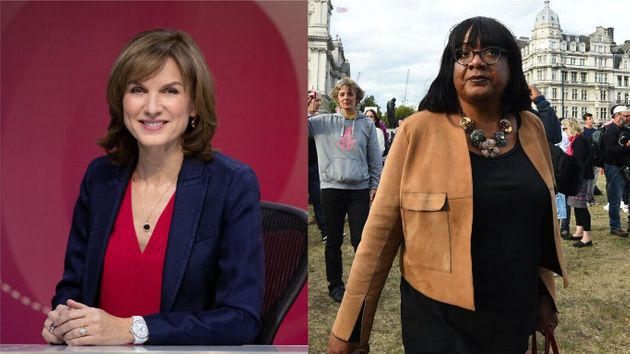 Fiona Bruce and Diane