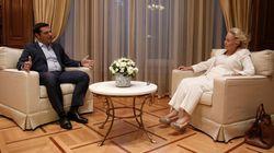 Ορκίστηκε υπηρεσιακή πρωθυπουργός η Βασιλική Θάνου – Την Παρασκευή η ορκωμοσία της