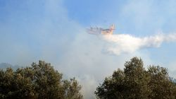 Κόρινθος: Αποφεύχθηκε ο κίνδυνος για τα χωριά Καλλιθέα κι Ελληνικό από τη φωτιά στην περιοχή του
