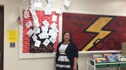 Η δασκάλα που μετέτρεψε την τάξη της σε μαγική αίθουσα από το σύμπαν του Χάρι
