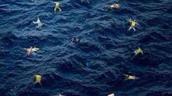 Νεκροί μετανάστες συνθέτουν τη σημαία της Ε.Ε.: Το σχόλιο του Banksy για το