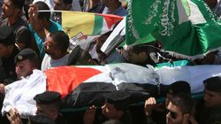 Δυτική Όχθη: Χιλιάδες στην κηδεία του πατέρα του μικρού Αλί που έχασε τη ζωή του στον εμπρησμό από Εβραίους