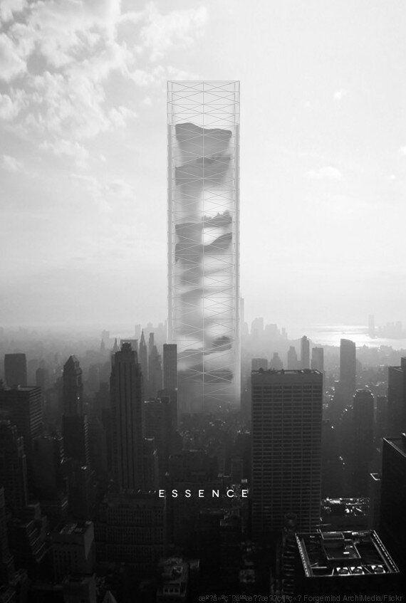 Ο ουρανοξύστης του μέλλοντος θα περιέχει μια έρημο, μια ζούγκλα και έναν
