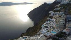 Η Σαντορίνη από ψηλά: Το ηφαίστειο,οι παραλίες,η καλντέρα και τα γραφικά χωριά της