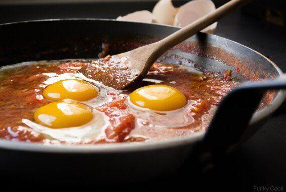 Αυγά με Ντομάτα, ή