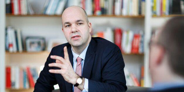 BERLIN, GERMANY - FEBRUARY 12: Marcel Fratzscher, President of Deutsches Institut fuer Wirtschaftsforschung...