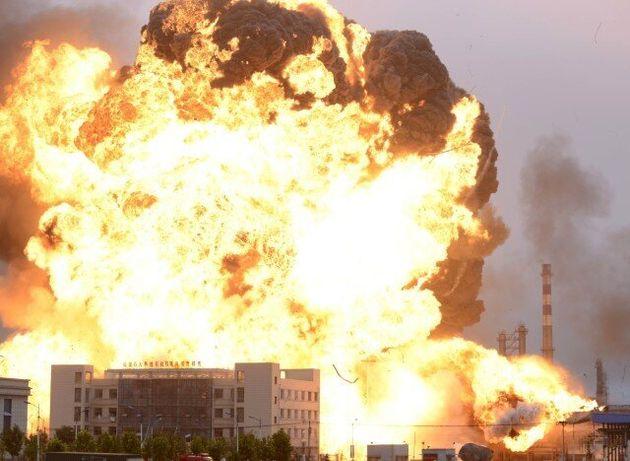 Κίνα: Στους 44 μέχρι στιγμής ο αριθμός των νεκρών από τις εκρήξεις, 520 τραυματίες, δεκάδες πυροσβέστες