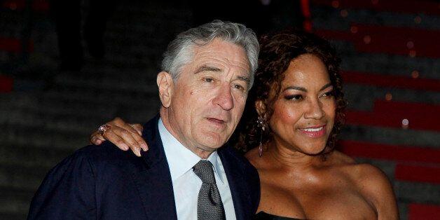 Robert De Niro, left, and Grace Hightower, right, attend the annual Vanity Fair Tribeca Film Festival...