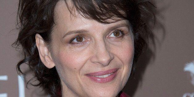 PARIS, FRANCE - APRIL 27: Juliette Binoche attends 'L'Epreuve' Paris premiere at UGC Cine Cite des Halles...