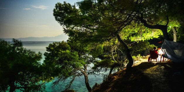 Chalkidiki peninsula, Sithonia, Aegean sea,