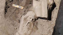 Μαρμάρινο άγαλμα της ελληνιστικής περιόδου εντοπίστηκε στην