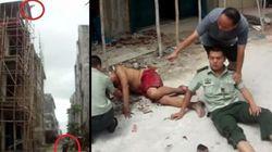 Η αυτοθυσία ενός αστυνομικού: Άνδρας πήδηξε από πολυκατοικία και τον έσωσε βάζοντας το σώμα του