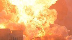 Σε εξέλιξη πυρκαγιά στο Κέντρο Διαλογής Ανακυκλώσιμων Υλικών στο Ηράκλειο