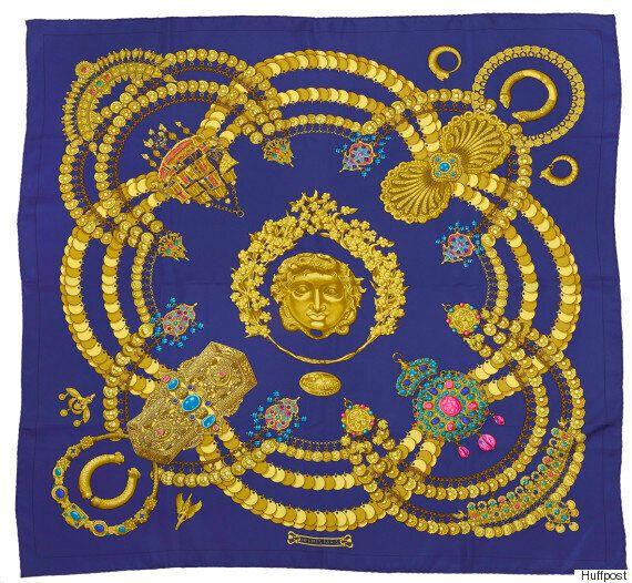 Τα «ελληνικά» μαντήλια του οίκου Hermes εκτίθενται για πρώτη φορά στις