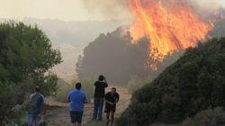 Μεγάλη πυρκαγιά στη