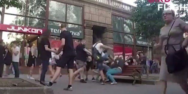 Κίεβο: Δέχτηκαν επίθεση με σπρέι πιπεριού από ακροδεξιούς επειδή ήταν