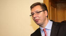 Σερβία: Επίθεση με πέτρες δέχθηκε στη Σρεμπρένιτσα ο πρωθυπουργός της Σερβίας Αλ.