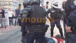 Το βίντεο με την βίαιη προσαγωγή διαδηλωτή που είδαν Πανούσης και αρχηγός της