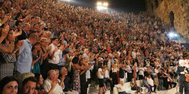 Πήγαμε στο Ηρώδειο για την εορταστική επέτειο των 90 χρόνων του Μίκη