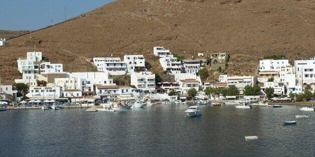 Kythnos island in Greece by