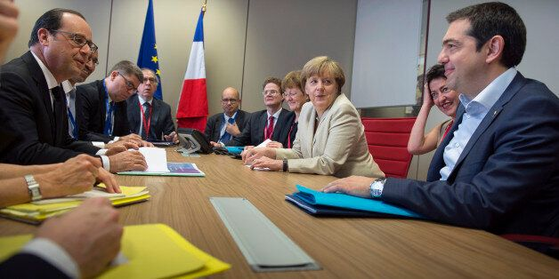 BRUSSEL, BELGIUM - JUNE 26: In this photo provided by the German Government Press Office (BPA), German...