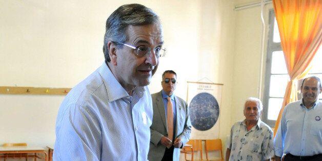 Αντώνης Σαμαράς: «Ψηφίζουμε