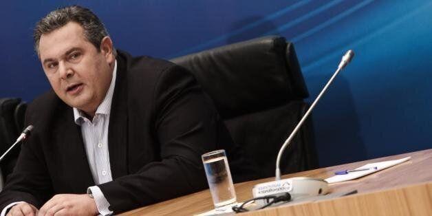 Καμμένος: Σε κυβέρνηση εθνικού σκοπού δεν συμμετέχουμε, όχι στη