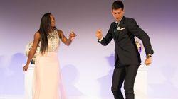 Αμήχανος ή ξεκαρδιστικός; Δείτε το χορό Serena Williams - Novak Djokovic στο πάρτυ λήξης του