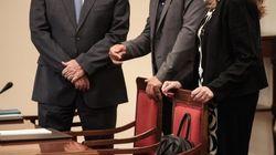 Μαραθώνια η συνεδρίαση των πολιτικών αρχηγών. Κοινό κείμενο κομμάτων χωρίς το