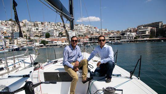 Ο Παναγιώτης Μαντής και ο Παύλος Καγιαλής ανοίγουν πανιά για τους Ολυμπιακούς του