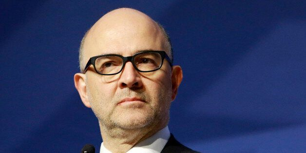 Commissioner for Economic and Financial Affairs, Taxation and Customs, Pierre Moscovici participates...
